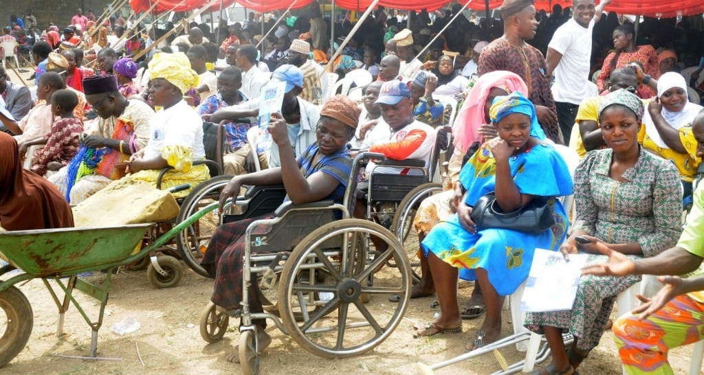DISABILITY DATA BANK TOOK OFF IN FCT- (BRISIN)